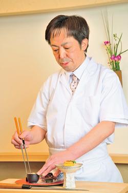 日本料理 世菜 店主 田邉 稔晴